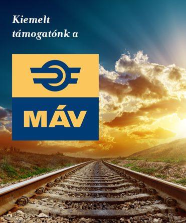 Kiemelt támogatónk a MÁV – 376x446 px